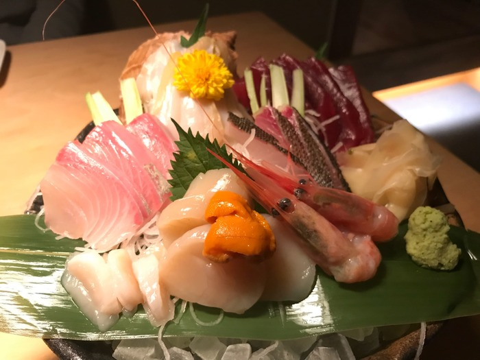活魚酒場めらんべゑ(刺盛り)