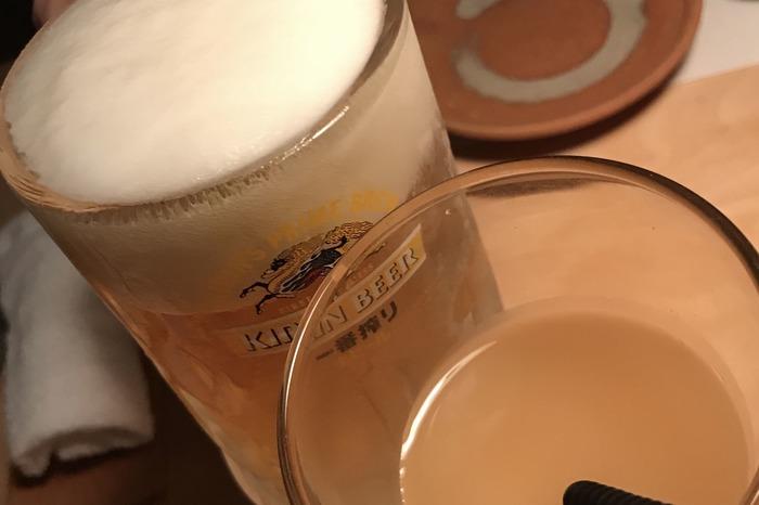 活魚酒場めらんべゑ(一番搾り)