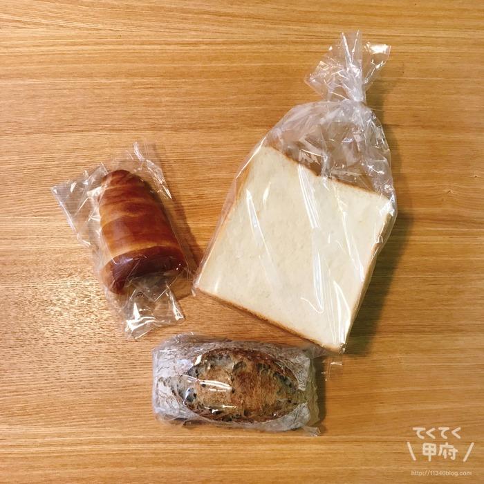 ベーカリーハチ(購入品)