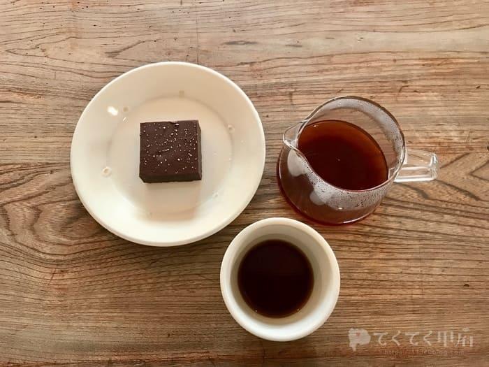 山梨県甲府市-AKITO COFFEE(アキトコーヒー)コーヒーと塩ブラウニー