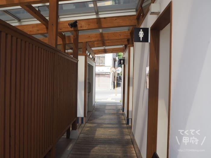 かつぬま朝市(トイレ)