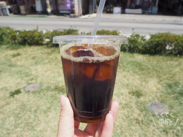 かつぬま朝市(アイスコーヒー)