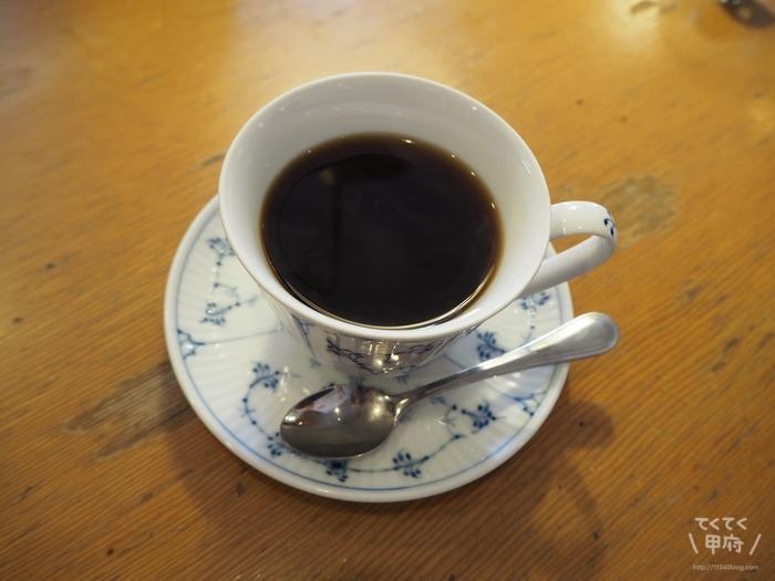 山梨/甲府・ダン珈琲店-ブレンドコーヒー