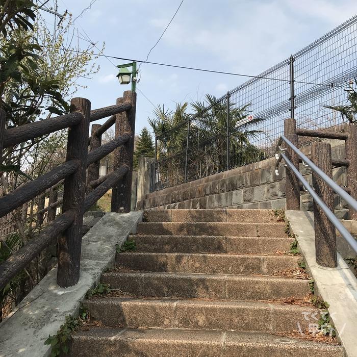 山梨県甲府市-中区配水場の行き方