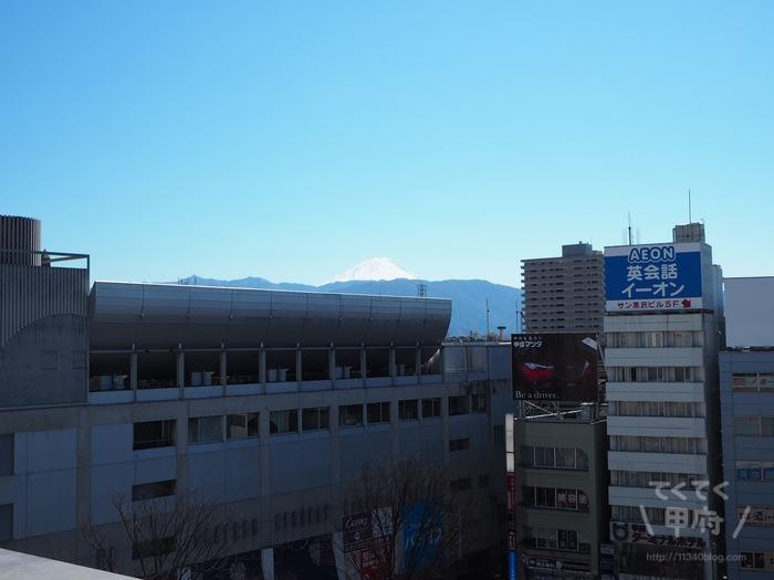 地元民が選ぶ!甲府駅周辺で富士山がキレイに見えるスポット3選