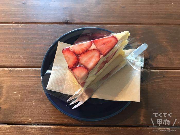 甲府市武田-みどりや洋菓子店(いちごの木)