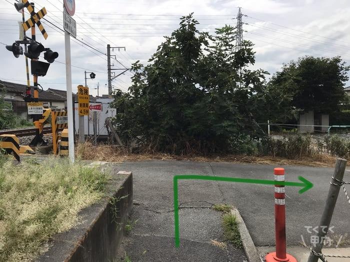 甲斐住吉駅からスターバックスコーヒー甲府平和通り店への行き方