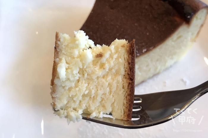 山梨県甲府市-W/cafe(ウィズカフェ)チーズケーキ