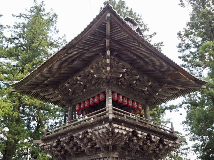 山梨・富士川町-小室山妙法寺(徳栄山)あじさい寺