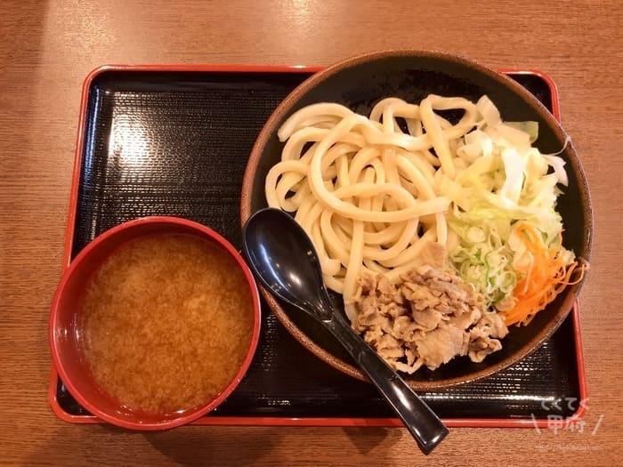 甲府駅-麺'ズ富士山 セレオ甲府店(吉田のうどん)