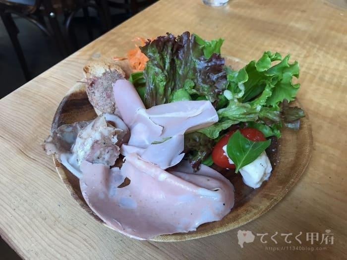 甲府駅・甲州夢小路-Vinoteca/ヴィノテカ(ランチ)前菜