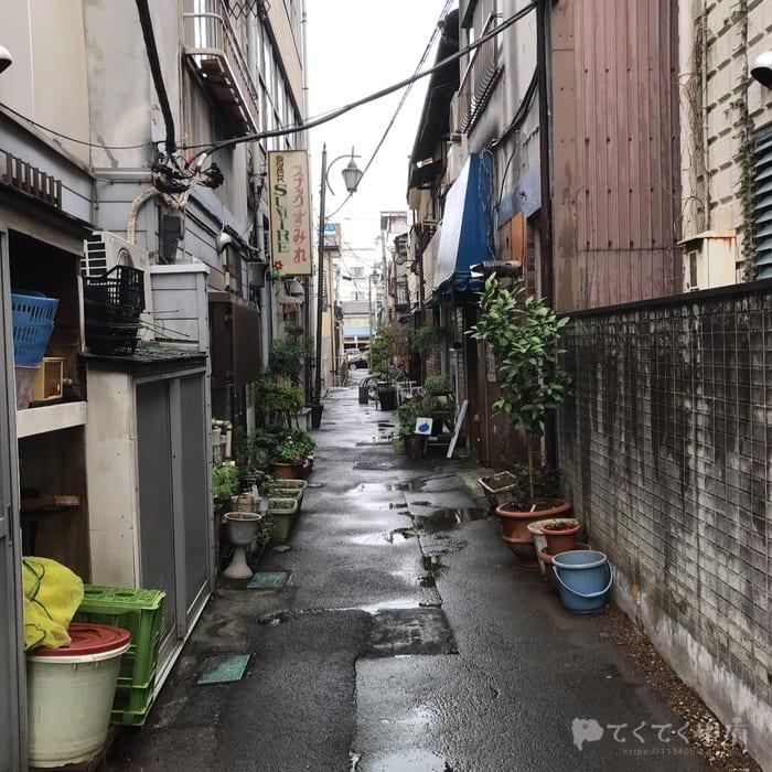 甲府・柳小路への行き方