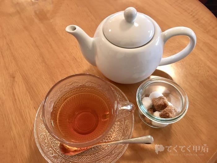 山梨県甲府市・甲府駅北口-DOux CAFE(ドゥカフェ)紅茶