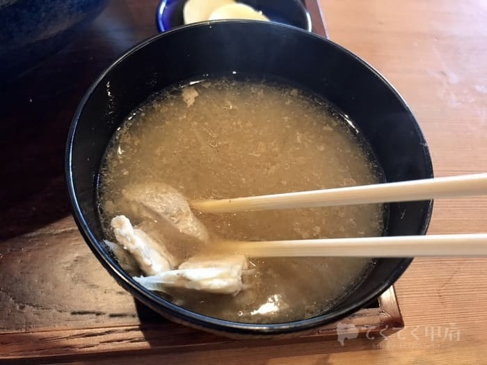 甲府市善光寺-和食海鮮ぎん(ランチ)