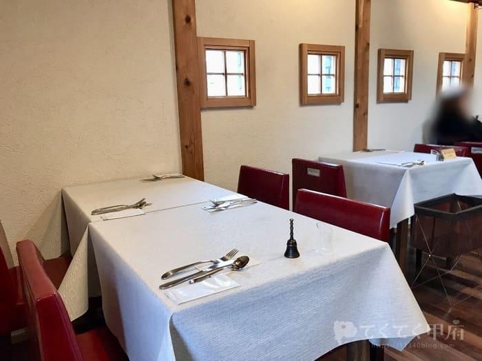 山梨県甲府市・甲府駅-甲州夢小路 Restaurant La Rishesse レストラン ラリシェス(店内)