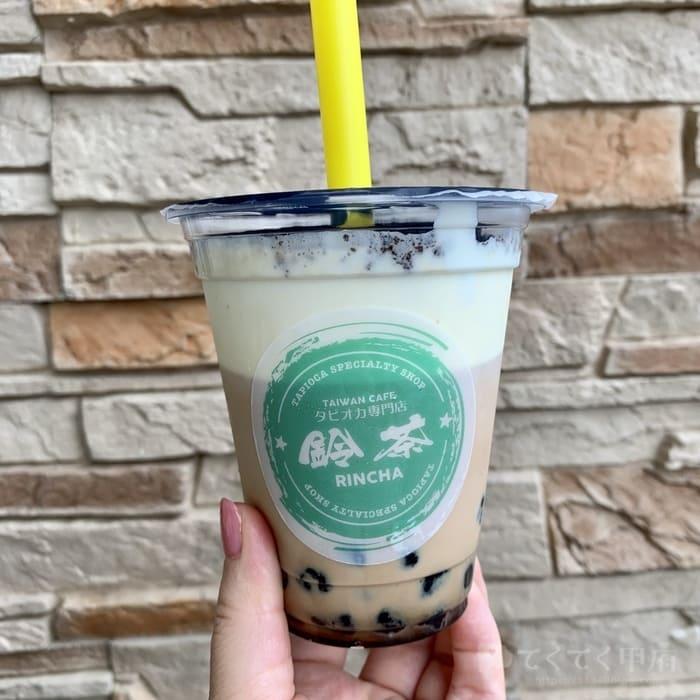 台湾タピオカ専門店 鈴茶 中央店(オレオ岩塩チーズミルクティー)
