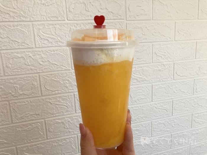 台湾茶房 TAIWAN TEA ホワイトアレイ山梨市駅前店(山梨柿フォームティー)