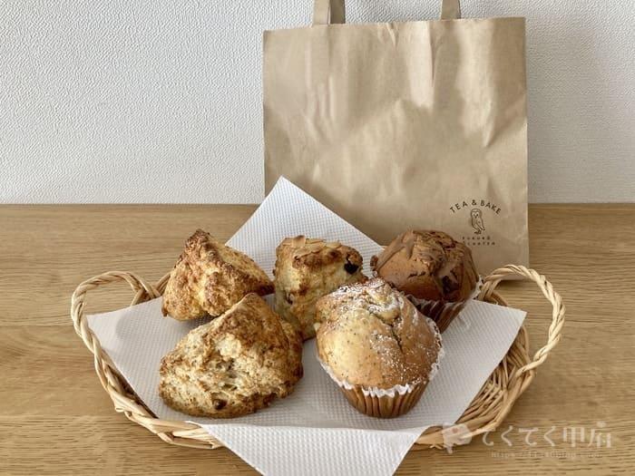 山梨県甲府市-フクロウ紅茶店の焼き菓子